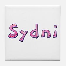 Sydni Pink Giraffe Tile Coaster