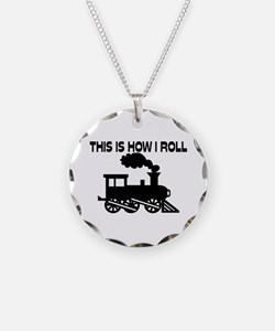 This Is How I Roll Train Necklace