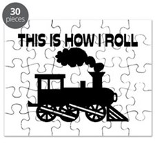 This Is How I Roll Train Puzzle