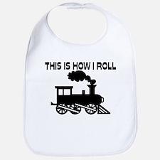 This Is How I Roll Train Bib