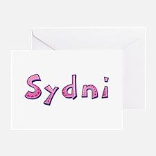 Sydni Pink Giraffe Greeting Card