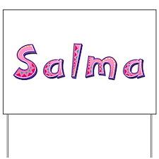 Salma Pink Giraffe Yard Sign