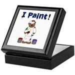 Painter's Keepsake Box