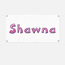 Shawna Pink Giraffe Banner