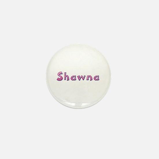 Shawna Pink Giraffe Mini Button