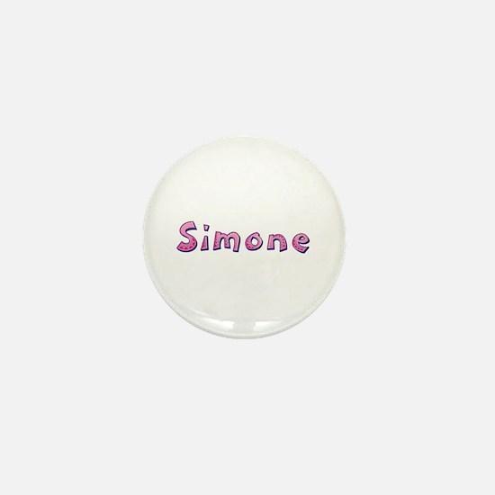 Simone Pink Giraffe Mini Button