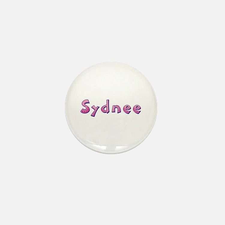 Sydnee Pink Giraffe Mini Button