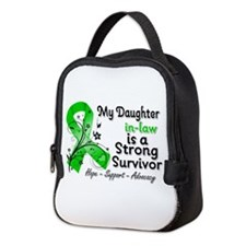 Daughter-in-Law Strong Survivo Neoprene Lunch Bag