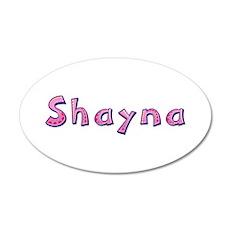 Shayna Pink Giraffe Wall Decal