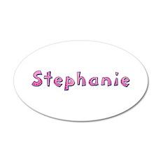Stephanie Pink Giraffe Wall Decal