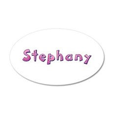Stephany Pink Giraffe Wall Decal