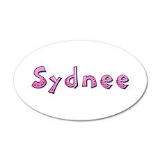 Sydnee Pink Giraffe Wall Decal