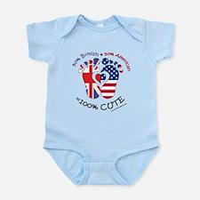 British American Baby Onesie