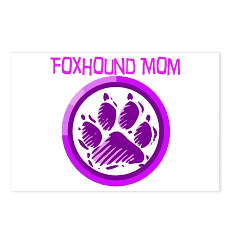 Foxhound Mom Postcards (Package of 8)