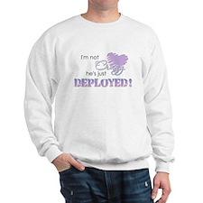 Not crazy - Deployed Sweatshirt