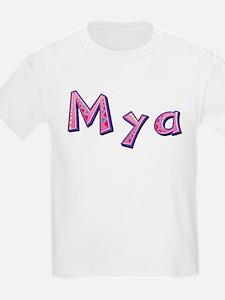 Mya Pink Giraffe T-Shirt