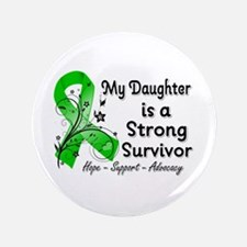 """Daughter Strong Survivor 3.5"""" Button"""