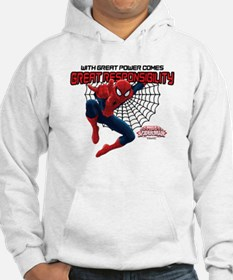 Spiderman: With Great Power Hoodie