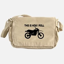 This Is How I Roll Dirt Bike Messenger Bag