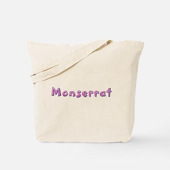 Monserrat Pink Giraffe Tote Bag
