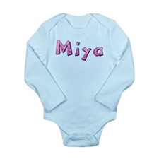 Miya Pink Giraffe Body Suit