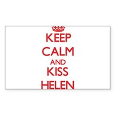 Keep Calm and Kiss Helen Decal
