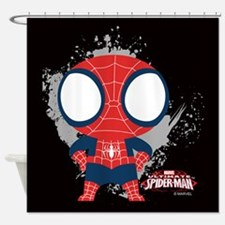 Spiderman Mini Shower Curtain