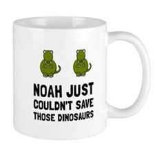 Noah Dinosaurs Mugs