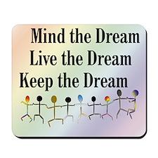 Live the Dream Mousepad