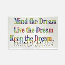 Live the Dream Rectangle Magnet