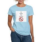 No Rubby the Tummy Women's Light T-Shirt