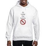 No Rubby the Tummy Hooded Sweatshirt