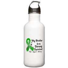 Brother Strong Surviv Sports Water Bottle