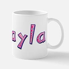 Mikayla Pink Giraffe Mugs