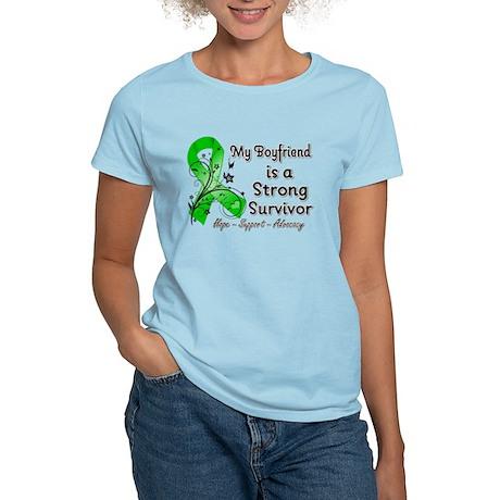 Boyfriend Strong Survivor Women's Light T-Shirt