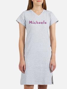 Michaela Pink Giraffe Women's Nightshirt
