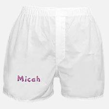 Micah Pink Giraffe Boxer Shorts
