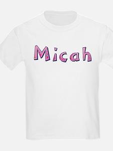 Micah Pink Giraffe T-Shirt
