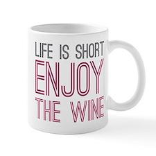 Life Short Wine Mug