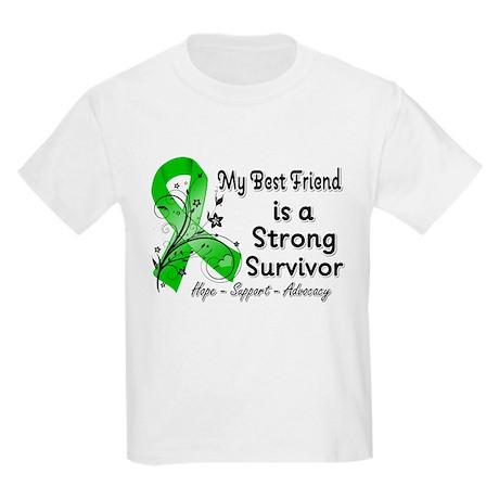 Best Friend Strong Survivor Kids Light T-Shirt