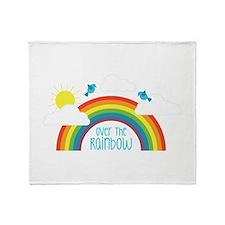Over The Rainbow Throw Blanket