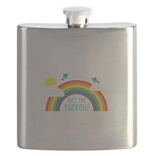 Over The Rainbow Flask