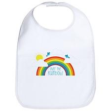 Over The Rainbow Bib