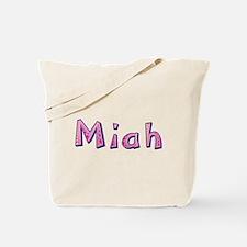 Miah Pink Giraffe Tote Bag