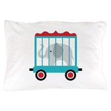 Elephant Cage Zoo Pillow Case