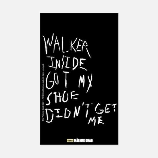 walking dead carl's Sticker (Rectangle)