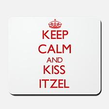 Keep Calm and Kiss Itzel Mousepad