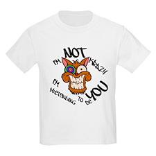 Krazy Kat Im Not Krazy Logo T-Shirt
