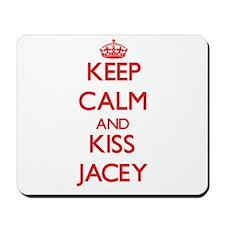 Keep Calm and Kiss Jacey Mousepad