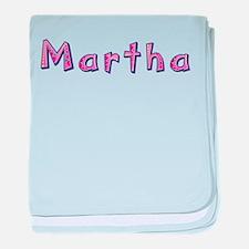 Martha Pink Giraffe baby blanket